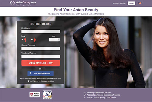 Free Asian Hookup Site With Free Messaging