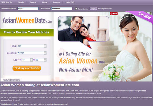 free dating website for asian
